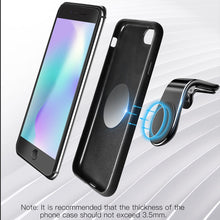 Load image into Gallery viewer, Universal Magnetic Car Phone Holder for Phone In Car Magnet Mount Free Angle Air Vent Support Smartphone Car Mobile Support