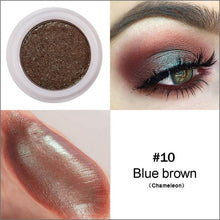 Load image into Gallery viewer, HANDAIYAN Glitter Eyeshadow Nude Pigments Cream Women Party Smoky Eyes Powder Shimmer Metal Eye Shadow