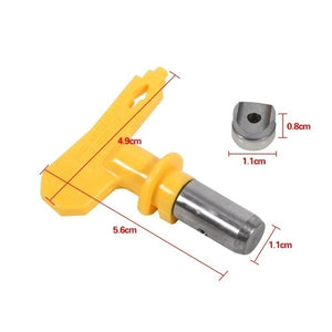 2/3/4/5/6 Series Yellow/Blue Airless Spray Gun Tip Nozzle for Titan Wagner Paint Sprayer