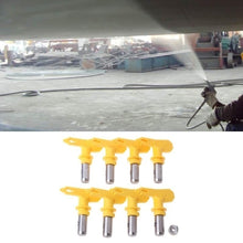 Load image into Gallery viewer, 2/3/4/5/6 Series Yellow/Blue Airless Spray Gun Tip Nozzle for Titan Wagner Paint Sprayer