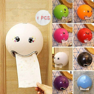 Creative Toilet Paper Box Ball Shaped Cute Bathroom Toilet Waterproof Toilet Paper Box Roll Paper Holder For Bathroom