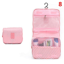 Load image into Gallery viewer, Fashion Travel Bag Hanging Makeup Bag Organizer Waterproof Washing Cosmetic Bag Toiletry Storage Bags