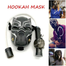 Load image into Gallery viewer, Shisha Hookah Gas Mask Kit Hookah Water/Silicone Flexible Pipe Mask For Party