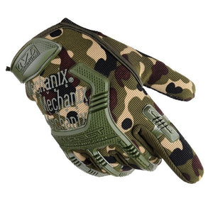 Thick Full Finger Outdoor Sports Fighting Cycling Gloves Specials Forces Non-slip Training Gloves