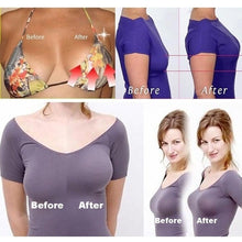 Load image into Gallery viewer, New Women Self Adhesive Push Up Bra Sexy Backless Invisible Silicone Bras Gel Stick Strapless Blackless Bralette Underwear Cup A B C D E F