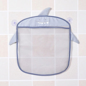 Cartoon Wall Hanging Bag Bathroom Organizer Mesh Storage Basket Hanging Storage Basket Bathing Toy