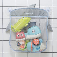 Load image into Gallery viewer, Cartoon Wall Hanging Bag Bathroom Organizer Mesh Storage Basket Hanging Storage Basket Bathing Toy