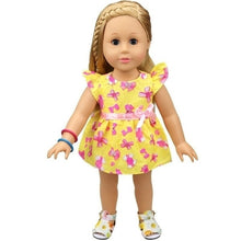 Load image into Gallery viewer, Cute Summer Style Dress Fits 18 Inch Doll Journey Girl and Our Generation Doll Same Applies 16 Inch Doll