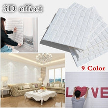 Load image into Gallery viewer, 2019 Home Decor PE Foam 3D Wallpaper DIY Wall Stickers Wall Decor Embossed Brick Stone Living Room