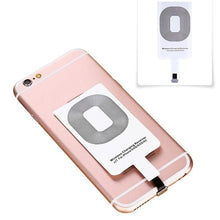 Load image into Gallery viewer, Qi Wireless Charger Adapter Charging Receiver For iPhone Andriod Type-C
