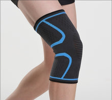 Load image into Gallery viewer, 1pc Checker Shockproof Breathable Short Kneecap Outdoor Sport Knee Protector