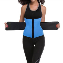 Load image into Gallery viewer, Female Waist Trainer Women Tummy Belt-Body Shaper Belt for Hourglass Shaper-Premium Stomach Fat Burner and Workout Waist Trainer