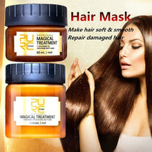 Load image into Gallery viewer, 60ML/120ML Hair Mask Treatment Mask 5 Seconds Repairs Damage Restore Soft Hair 60ml for All Hair Types Keratin Hair & Scalp Treatment