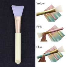 Load image into Gallery viewer, DIY Silicone Facial Mask Brush 1pc Blackhead Remover Silica Gel Brush Skin Face Care Tool