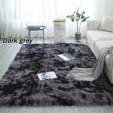 Load image into Gallery viewer, Newest Super Solft Home Decor Floor Mat Gradient Color Fluffy Bedroom Carpet Coffee Table / Sofa Mat Multi-Size Hallway Floor Rugs Doormats