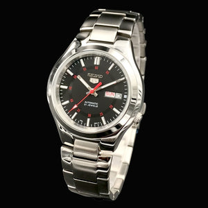 Men Stainless Band Mechanical Watch Stainless Case Full Automatic Watch with Box