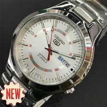 Load image into Gallery viewer, Men Stainless Band Mechanical Watch Stainless Case Full Automatic Watch with Box