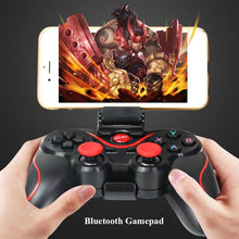 Load image into Gallery viewer, Bluetooth Wireless Gamepad S600 STB S3VR Game Controller Joystick For Android IOS Mobile Phones PC Game Handle