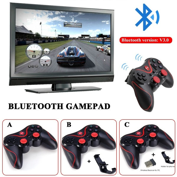 Bluetooth Wireless Gamepad S600 STB S3VR Game Controller Joystick For Android IOS Mobile Phones PC Game Handle