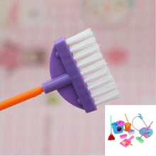 Load image into Gallery viewer, Dolls Pretend Play Toy Cleaning Kit for Barbie Dolls(1 Set=9 pcs) COLOR RANDOM