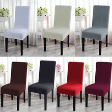 Load image into Gallery viewer, 2019 New Cushion Home Decora Dining Chair Covers Spandex Strech Dining Room Chair Protector Slipcover