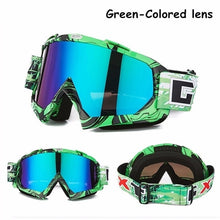 Load image into Gallery viewer, Motocross Goggles Motorcycle Glasses Ski Goggles Outdoor Anti-fog Goggles Glasses Riding Goggles