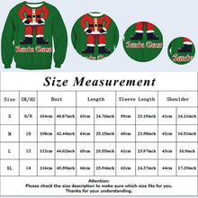 Load image into Gallery viewer, Hot Sale Christmas Printed Women Men Elk Sweatshirt Snowflake Santa Claus Merry Christmas Unisex Ugly Pullover Tops
