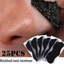 Load image into Gallery viewer, 25pcs Nose Blackhead Remover Mask Pore Cleaner Acne Treatment Mask Deep Nose Pore Cleaning