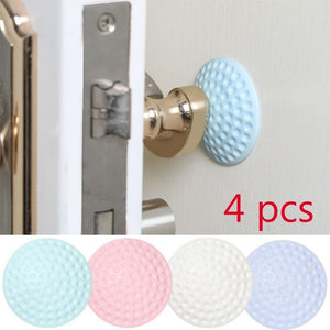 2019 Round Wall Protector Self Adhesive Door Handle Bumper Guard Stopper Crash Buffer Mute Anticollision Pad