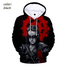 Load image into Gallery viewer, 2019 New TV Series THE 100 Men and Women 3D Printed Hooded Sweater Street Casual Hooded Sweater the 100 Pattern Hooded Sweater
