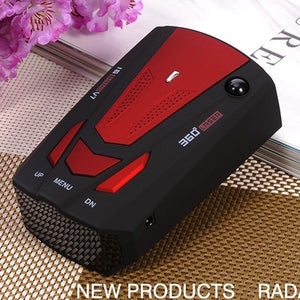 V7 Cobra 16 Band 360 Car Camera Laser Radar Detector Voice Alert  New Radar Detector Voice Alert and Car Speed Alarm System Anti-Police 2 Language English and Russian