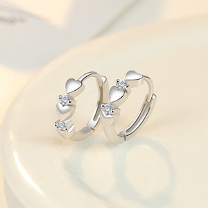 Exquisite design charm 925 sterling silver fashion jewelry Elegant lady Ear clip earring