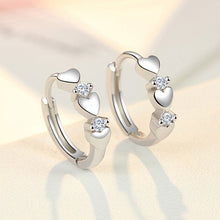 Load image into Gallery viewer, Exquisite design charm 925 sterling silver fashion jewelry Elegant lady Ear clip earring