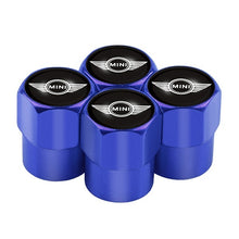 Load image into Gallery viewer, 4pcs Car Tire Valve Caps fit for Mini Cooper 2011 2012 2013 badge accessories