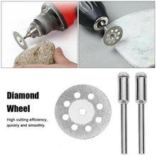 Load image into Gallery viewer, 10PCS Diamond Cutting Wheel Saw Blades Cut Off Discs Set for Dremel Rotary Tool