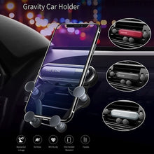 Load image into Gallery viewer, This Is One\ Gravity Car Phone Holder Car Air Vent Mount Holder Mobile Phone Stand Universal 4.7\-6.5\ Smartphone