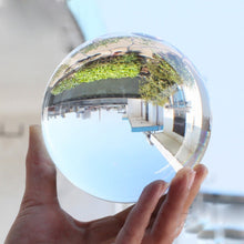 Load image into Gallery viewer, Clear Transparent Glass Crystal Ball Healing Sphere Photography Props