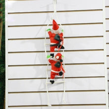 Load image into Gallery viewer, Santa Claus Climbing Stairs Christmas Tree Decoration Large Size With Stair   XX