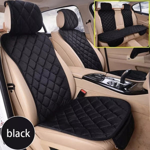 Universal Car Seat Cover Full Set Automobile Seat Covers Warm Plush Car Seat Cover Seat Protector Car Seat Covers For Women Men