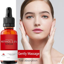 Load image into Gallery viewer, Age Defying  Anti Wrinkle Firming Repair Treatment Retinol Serum 2.5% for the Face,with Hyaluronic Acid + Jojoba Oil + Vitamin E and Green Tea - 5/10/30ML