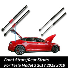 Load image into Gallery viewer, 2x Car Front Struts/Rear Struts Boot Trunk Automatic Trunk Lift Support Struts Kit For Tesla Model 3