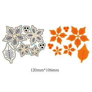 120*106mm Metal Flowers Cutting Dies Stencil Scrapbook Paper Card Album Paper Craft DIY