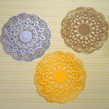 Load image into Gallery viewer, Lovely Flower Doily Die Cuts Metal Cutting Dies for DIY Scrapbooking Card Decor Embossing Stencils Craft dies