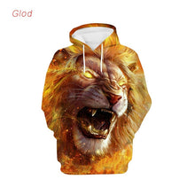 Load image into Gallery viewer, Tiger Hoodie Men Funny Cool 3D Printed Hoodies New Autumn Streetwear Style Hip Hop Casual Sweatshirts