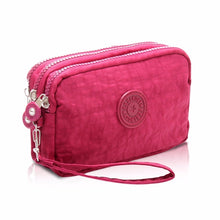 Load image into Gallery viewer, New hot  fashion 1Pcs 3-layer Mobile Phone Bag Lady Purse Fashion Women Wallet