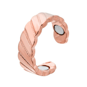 Stainless Steel Magnetic Medical for Weight Loss Ring Slimming Tools Fitness Reduce Weight Ring Women Body Slim Care