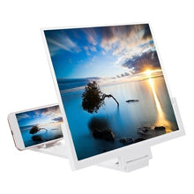 Load image into Gallery viewer, Mobile Phone Screen Magnifier 3D HD Screen Amplifier Stand Bracket