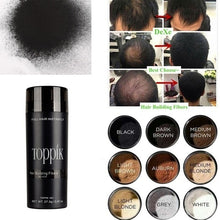 Load image into Gallery viewer, 9 Colors Hair Fiber Wig Extension Hair Loss Building Fiber Powder Hair Thickening Powder Keratin Fiber Hair Care for Women Men