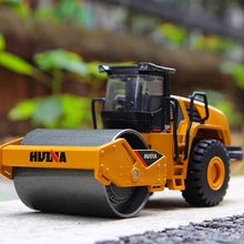 Load image into Gallery viewer, HUINA 1:50 Dump Truck Excavator Wheel Loader Diecast Metal Model Construction Vehicle Toys for Boys Birthday Gift Car Collection