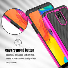Load image into Gallery viewer, For LG Stylo 5 Case,Dual Layer Shockproof Anti-Scratch Rugged Armor Defender Protective Case for LG Stylo 5